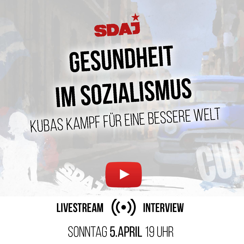 Livestream: Gesundheit im Sozialismus / Interview / Q&A