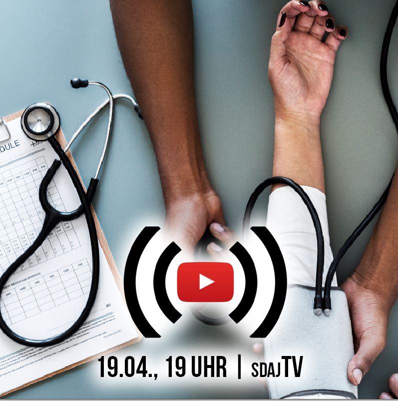 Live-Stream: Krise im Gesundheitswesen – nur wegen Corona?