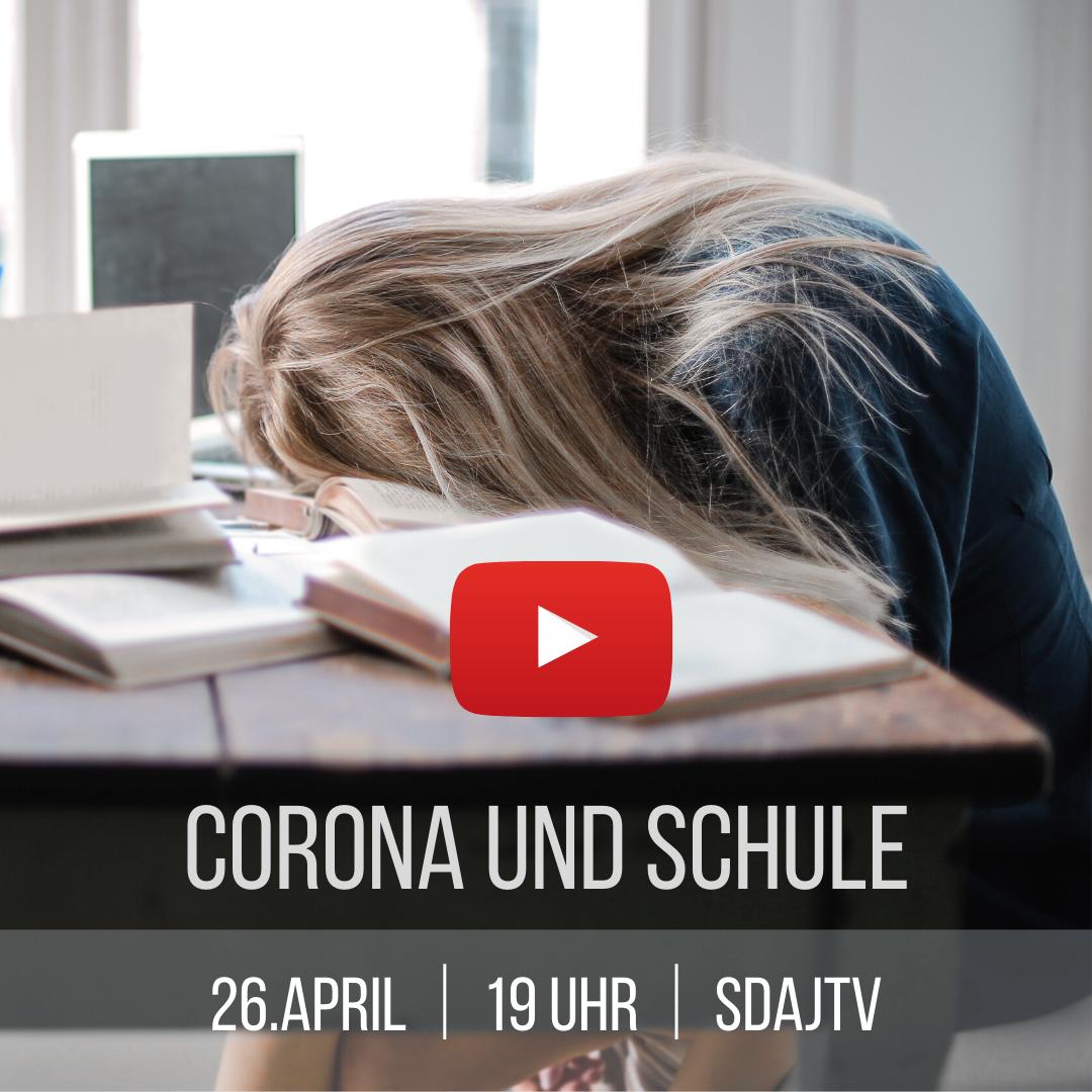 Live-Stream: Corona und Schule