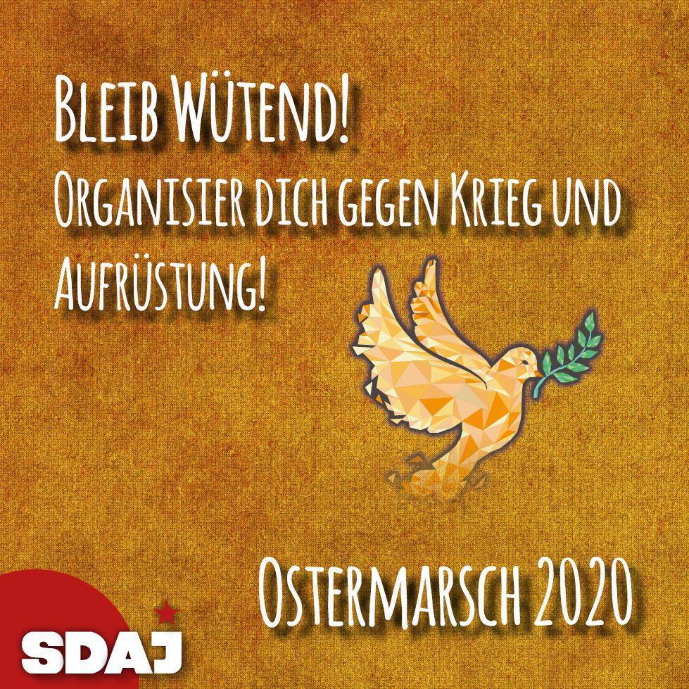 Ostermarsch – Bleibt wütend!