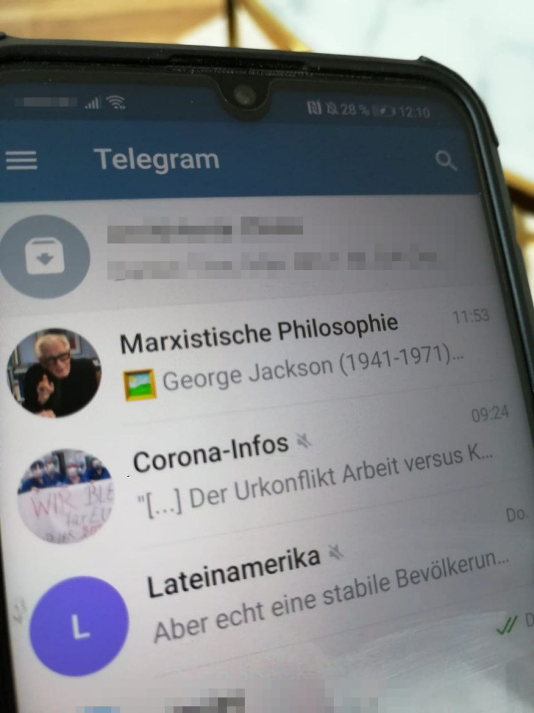 SDAJ in Aktion – bundesweiter Telegram Channel