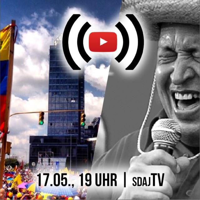 Erneuter Putschversuch in Venezuela – die SDAJ im Gespräch mit Carolus Wimmer (PCV) live aus Caracas