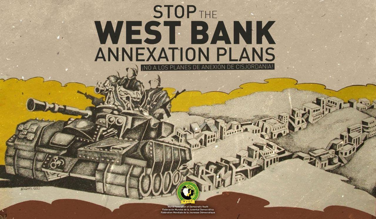 Solidarität mit Palästina – sofortiger Stopp der Annektionen!