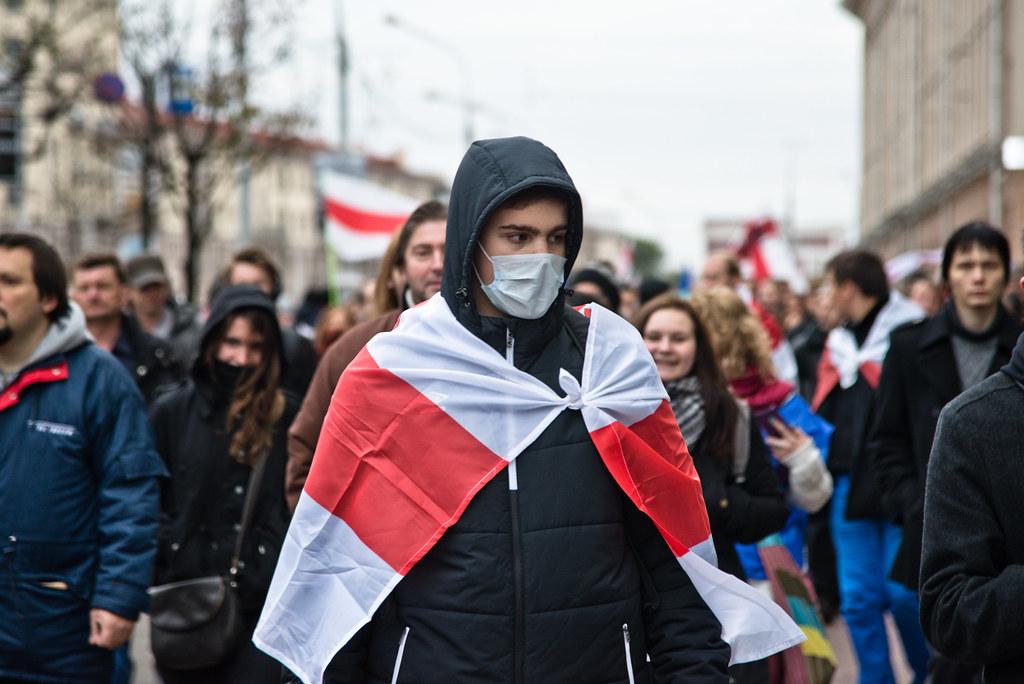 »Hände weg von Belarus!«