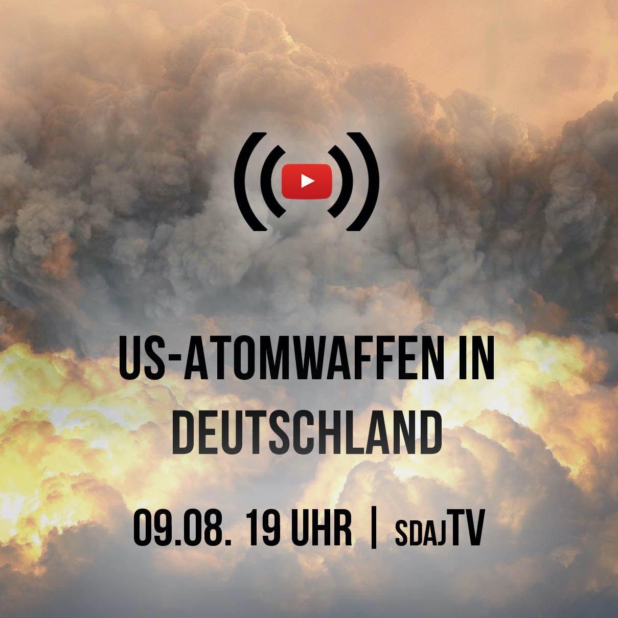 neuer Live Stream: US-Atomwaffen in Deutschland
