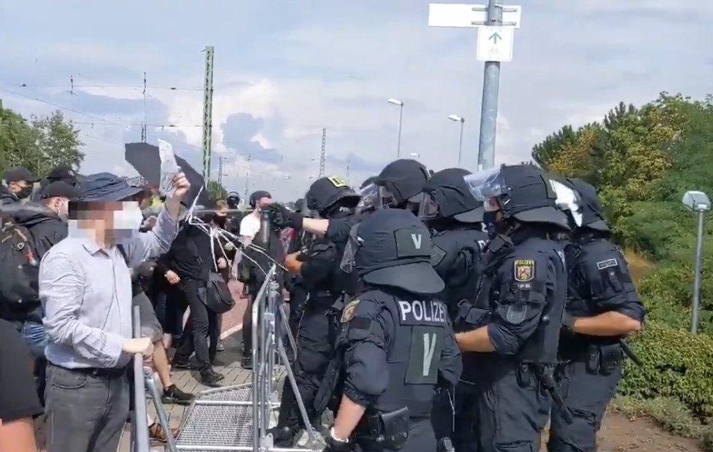 Polizeigewalt in Ingelheim