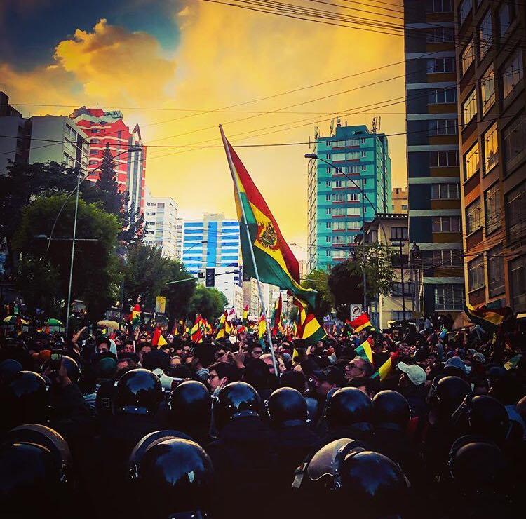 Solidarität mit der MAS-IPSP in Bolivien