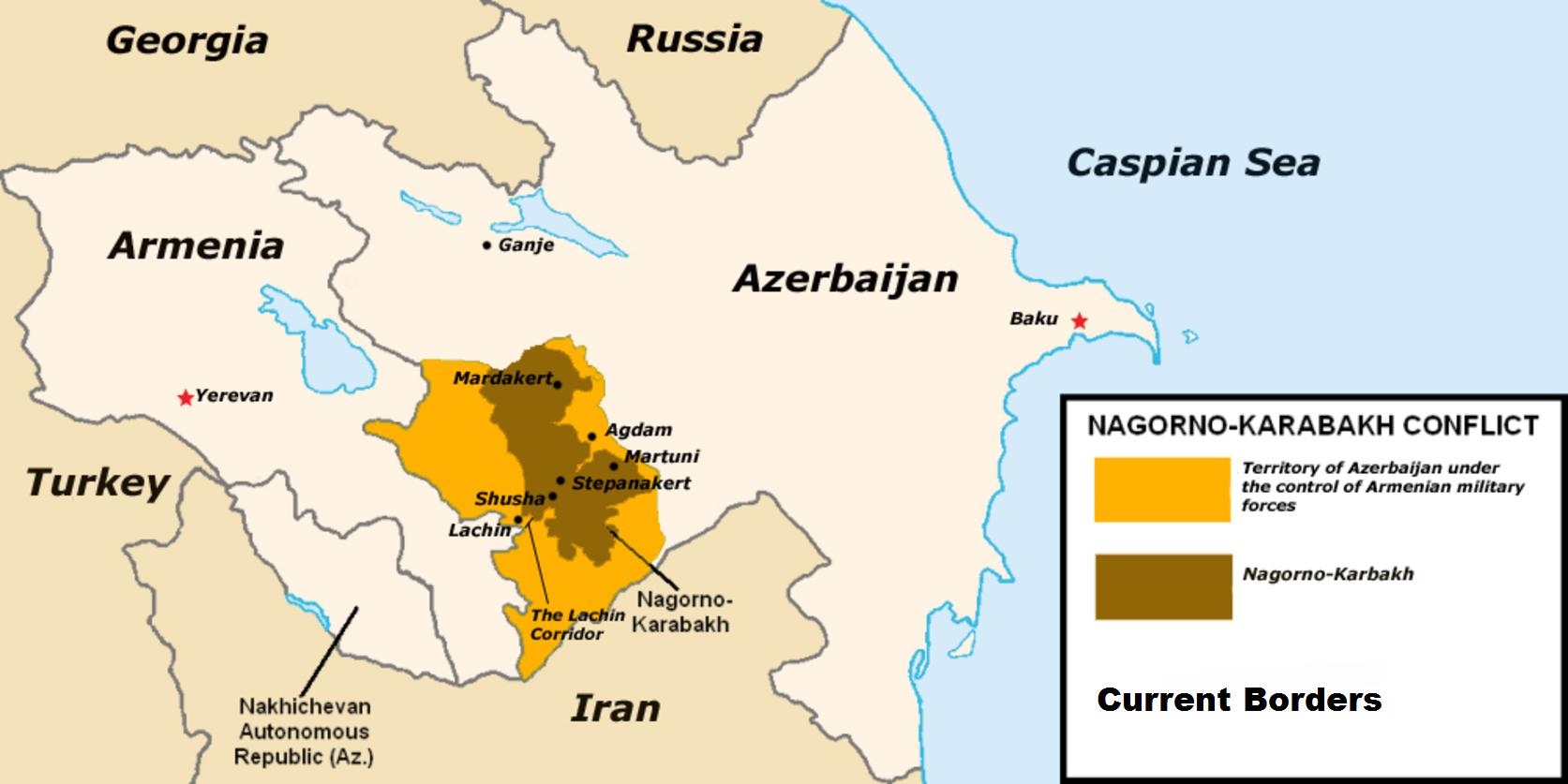 Stoppt den Krieg um Berg-Karabach! Frieden im Kaukasus!