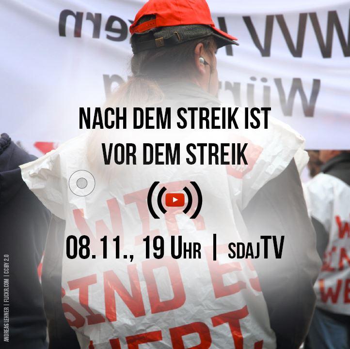 Livestream: Wie weiter nach dem Streik?