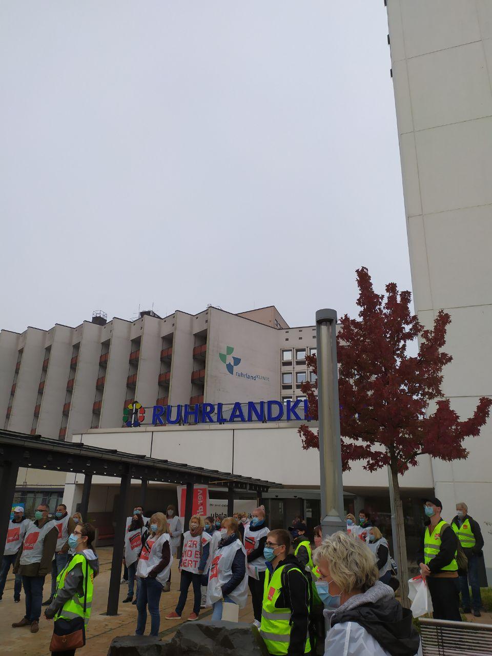 Solidarität mit den Streikenden im TVöD