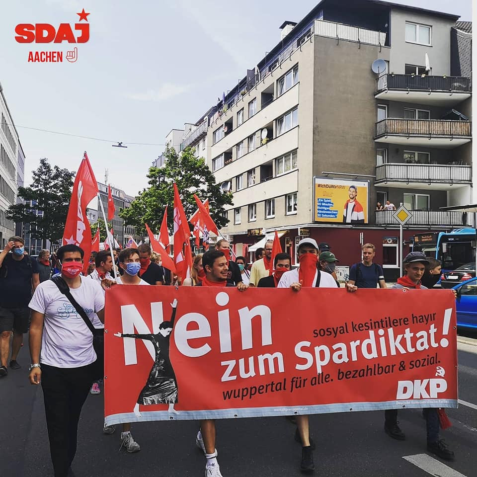 SDAJ in Aktion: Wuppertal