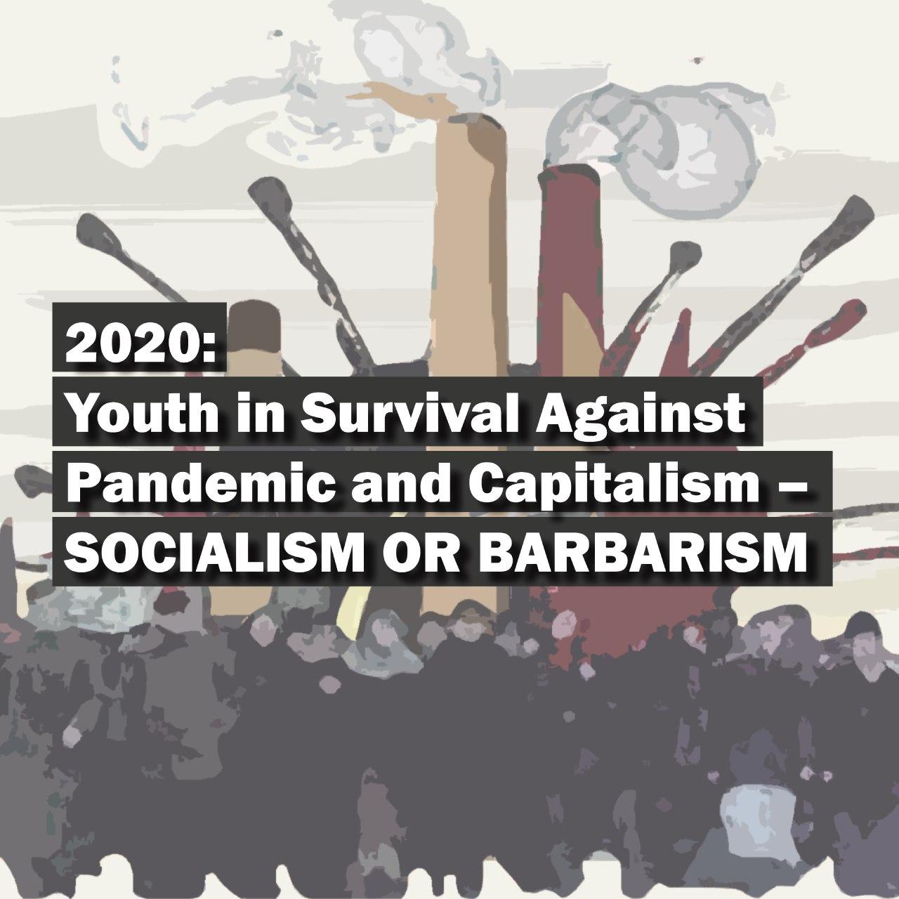 Jugend gegen Pandemie und Kapitalismus: Sozialismus oder Barbarei