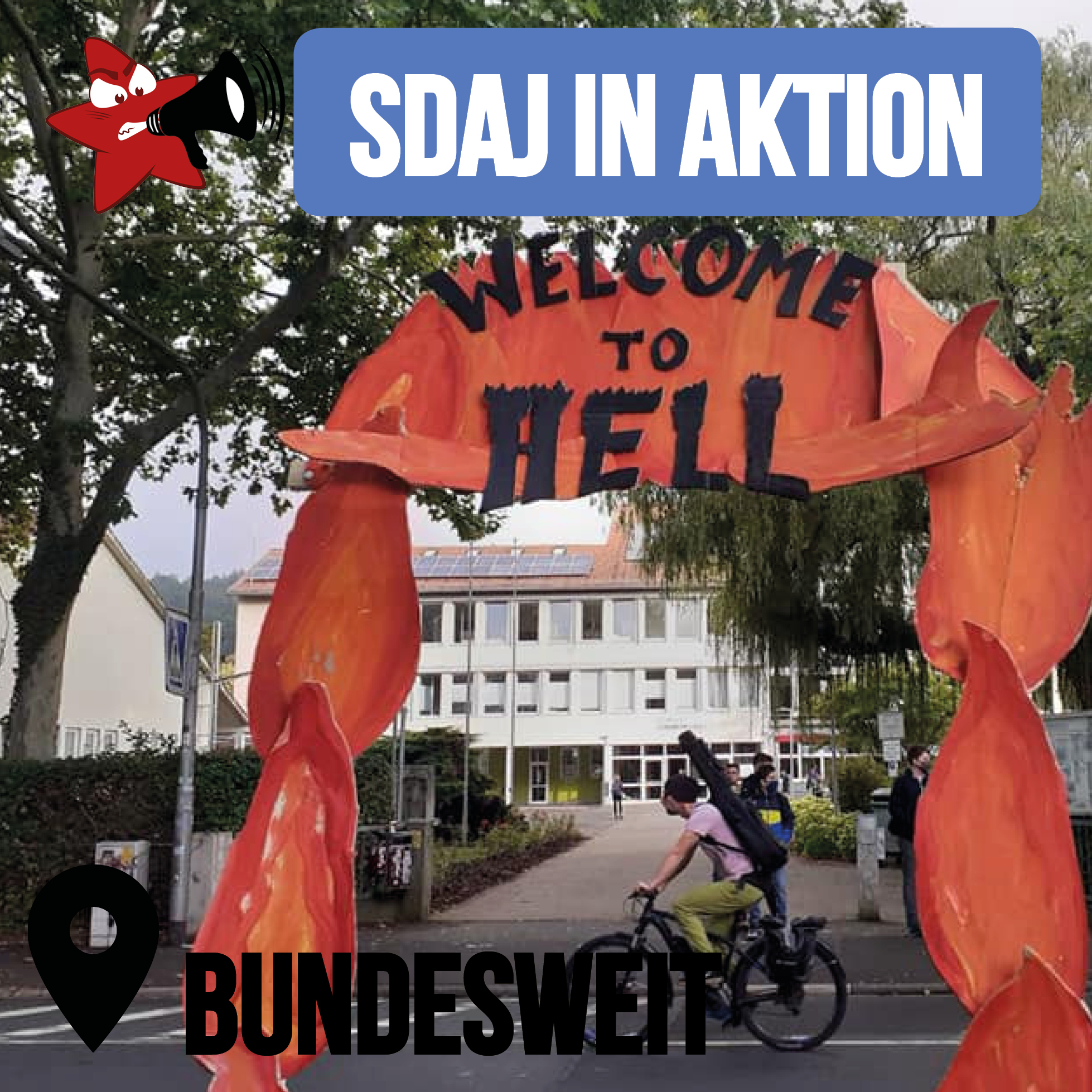 SDAJ in Aktion: bundesweit
