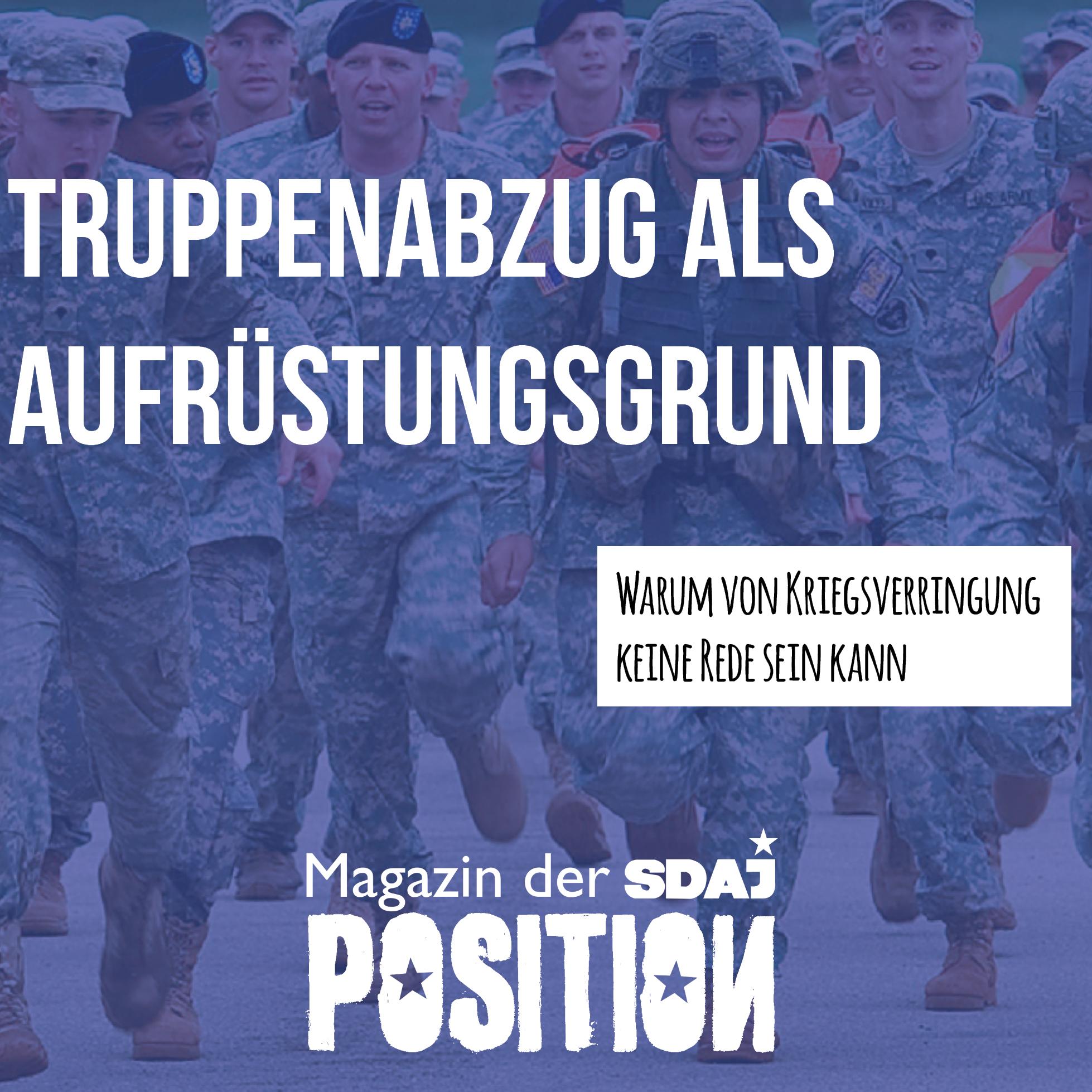 US-Truppenabzug aus Deutschland – Quo vadis?