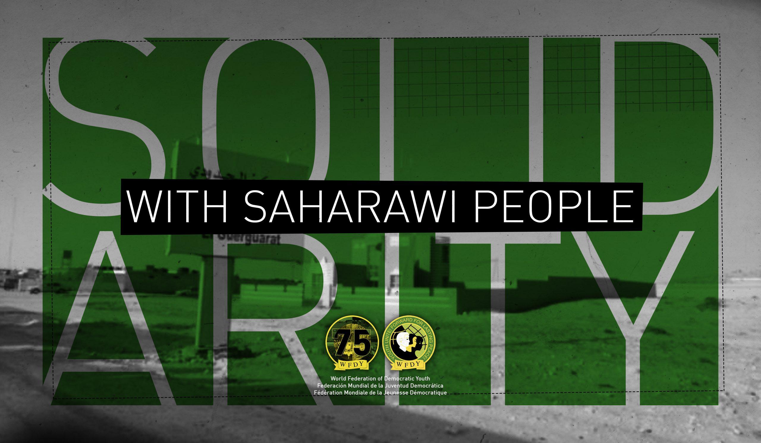 Solidarität mit der Frente Polisario und den Menschen der West-Sahara!