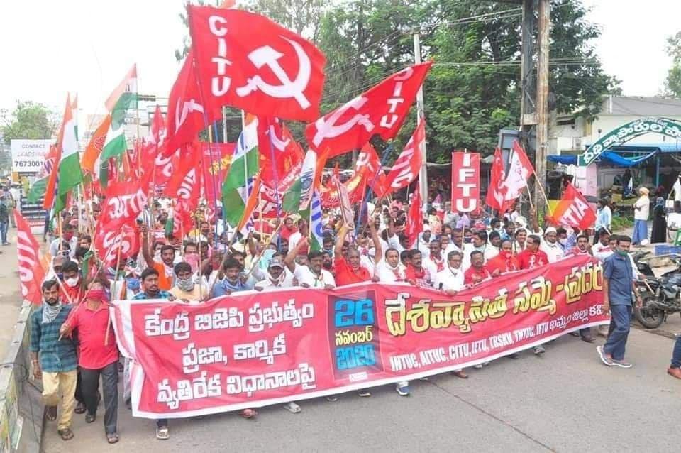 Solidarität mit den Streikenden in Indien!