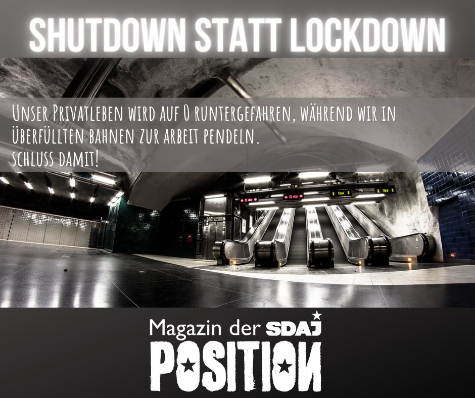 Shutdown statt Lockdown