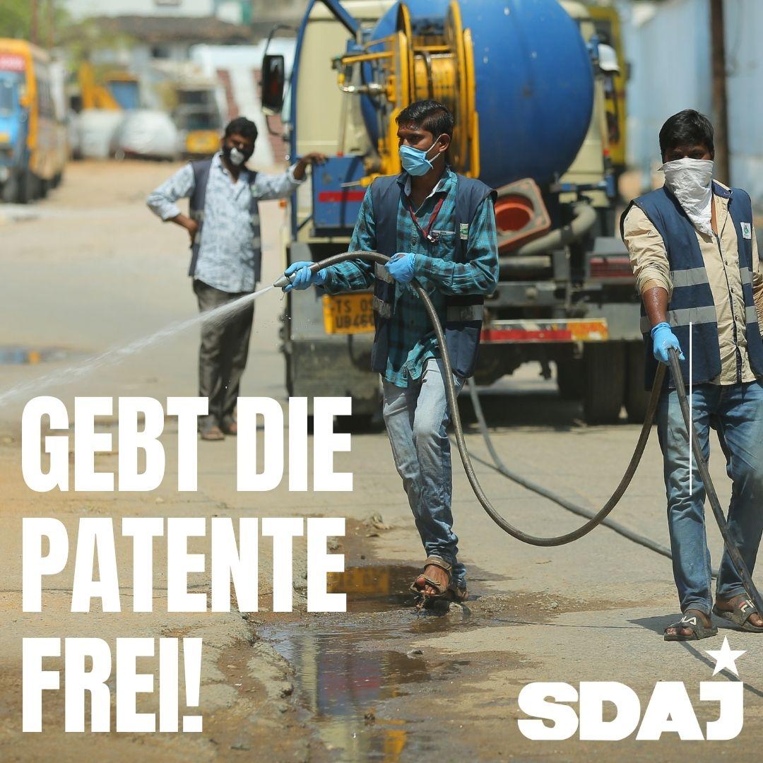 Gebt die Patente frei!