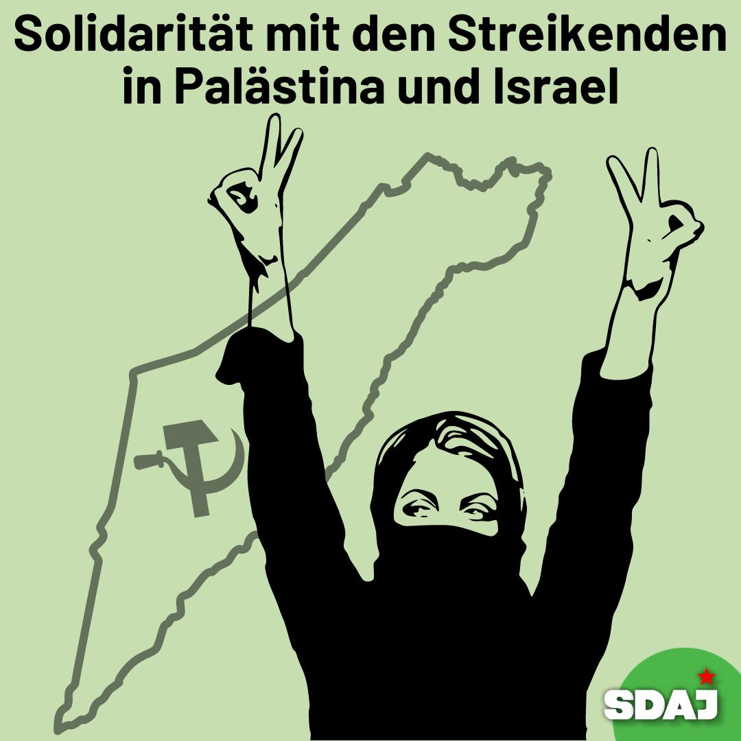 Solidarität mit den Streikenden in Israel und Palästina!