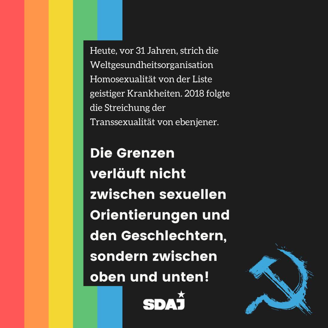 Internationaler Tag gegen Homo-, Bi-, Inter- und Transphobie