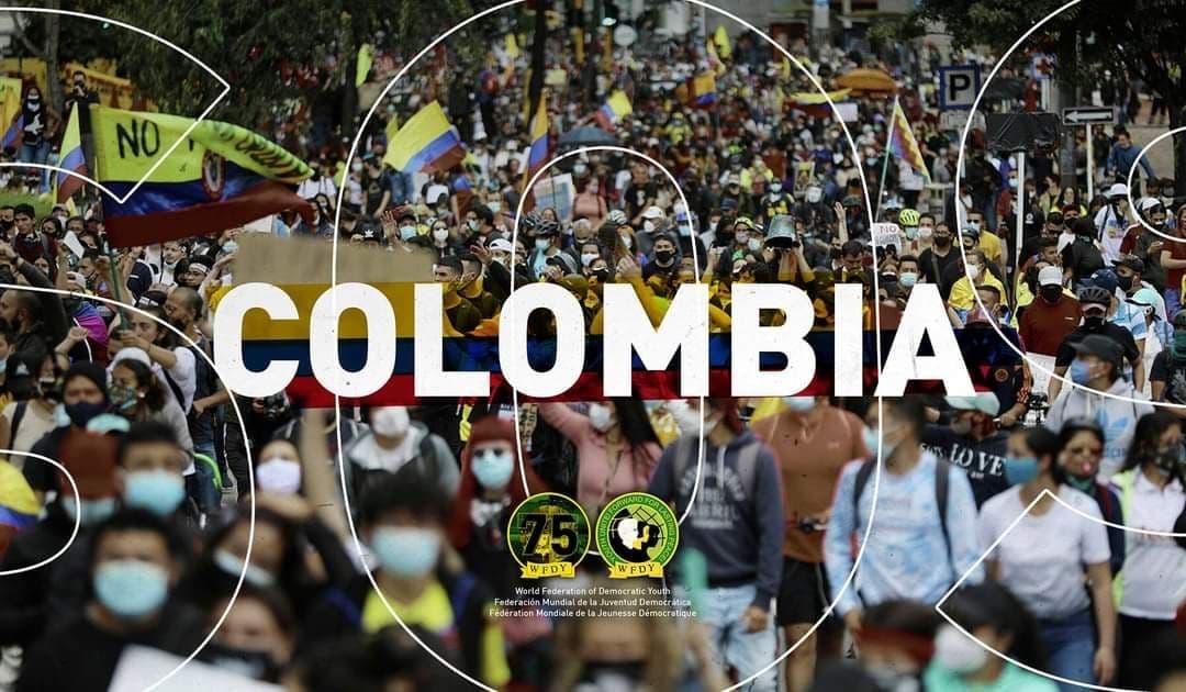 Solidarität mit den Protesten in Kolumbien!
