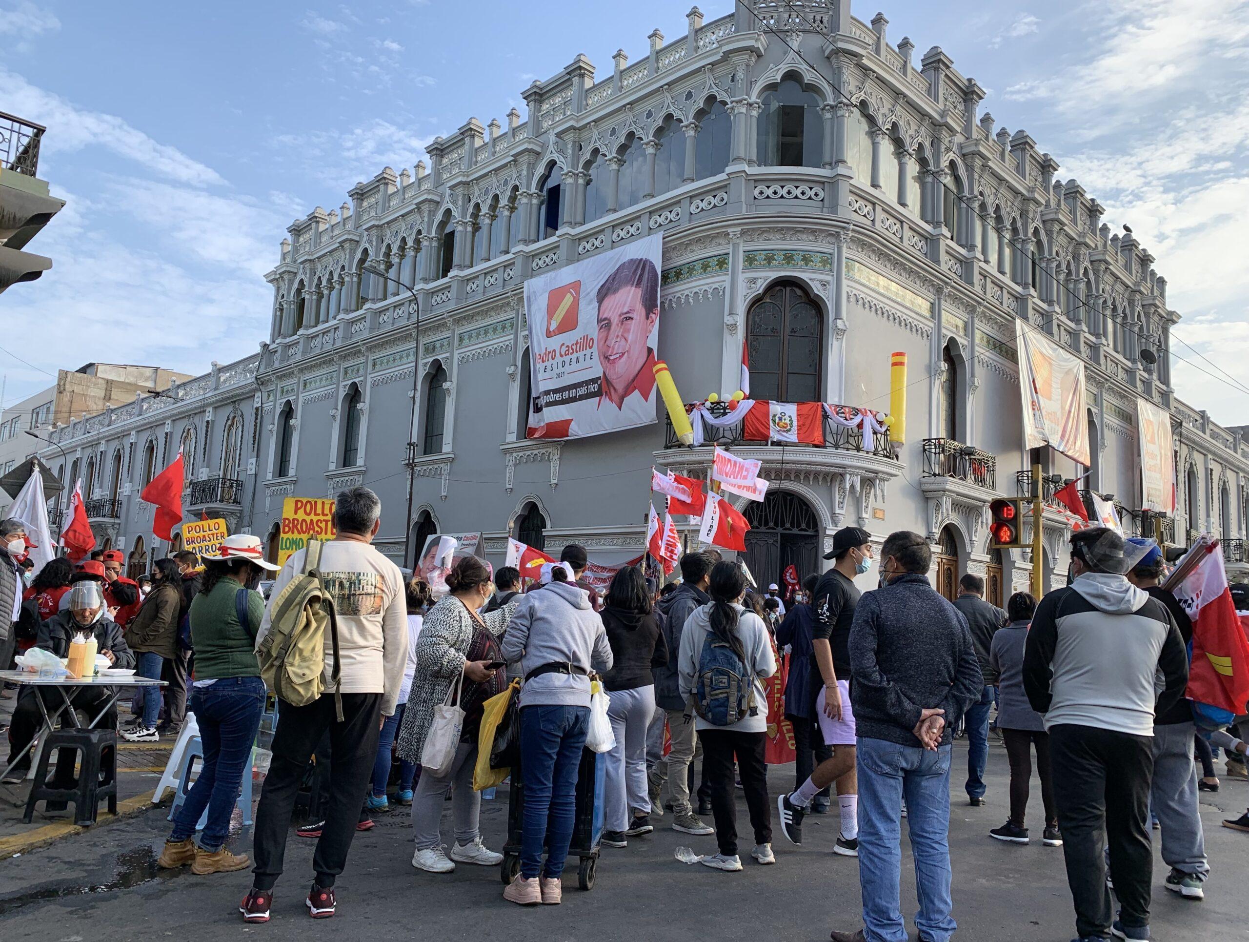 Nein zum Putschversuch in Peru!