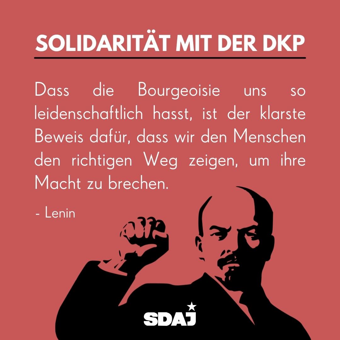 Stellungnahme Entzug des Parteienstatus der DKP