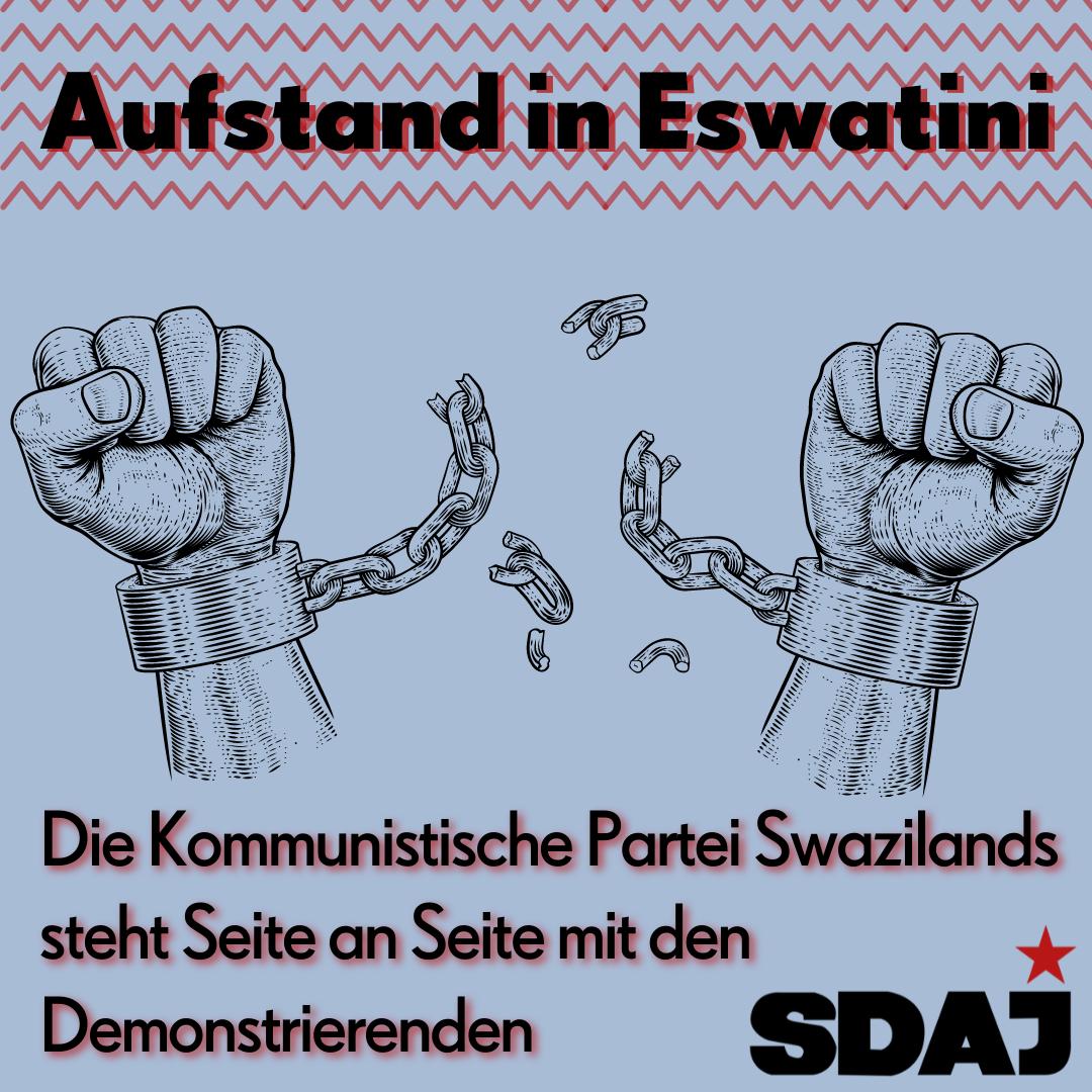 Aufstand in Eswatini