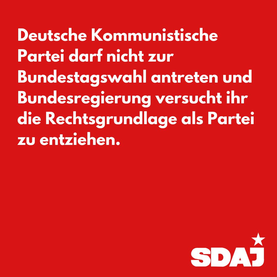 Gegen ein Verbot der DKP!
