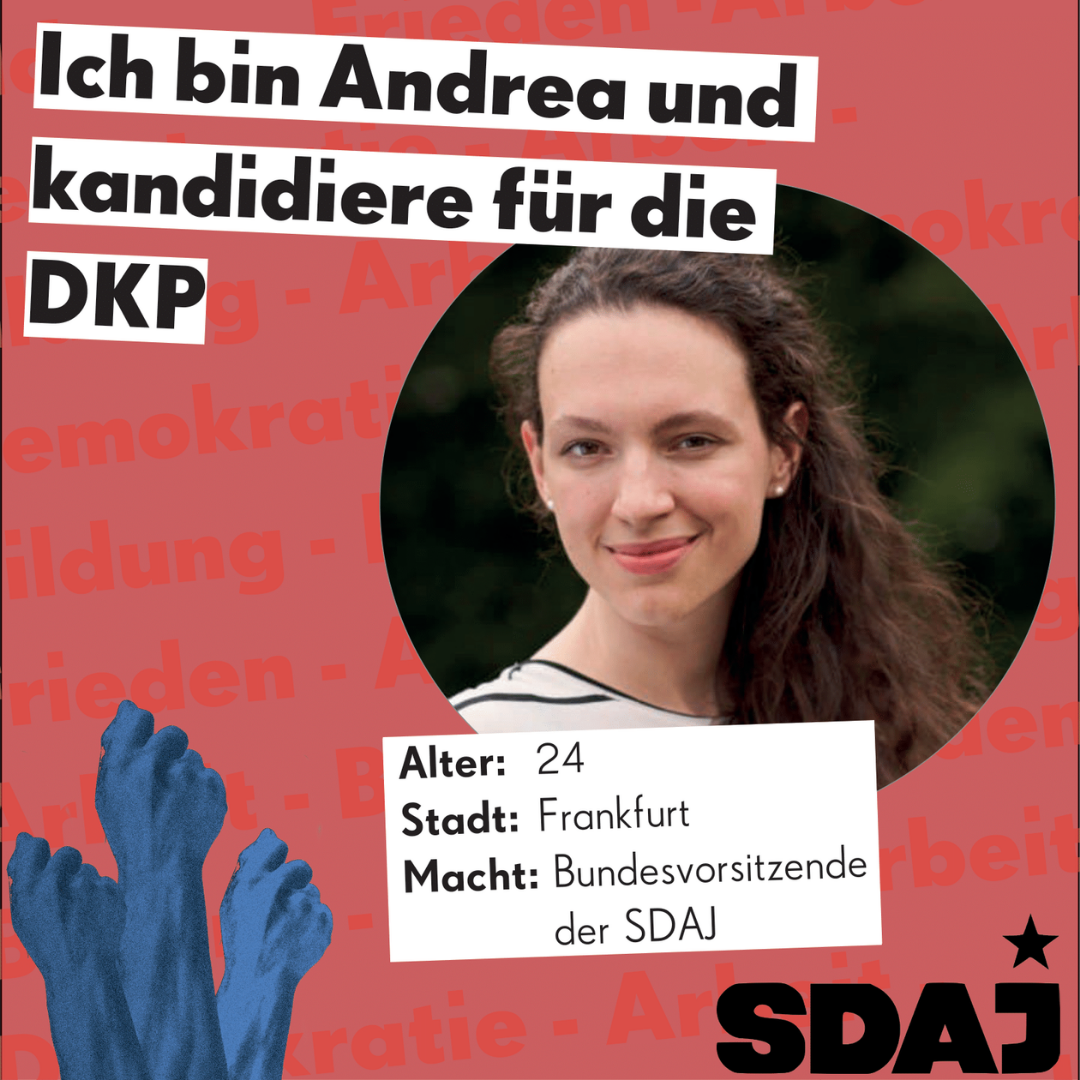 Jungkandidat*innen zur Bundestagswahl: Andrea Hornung
