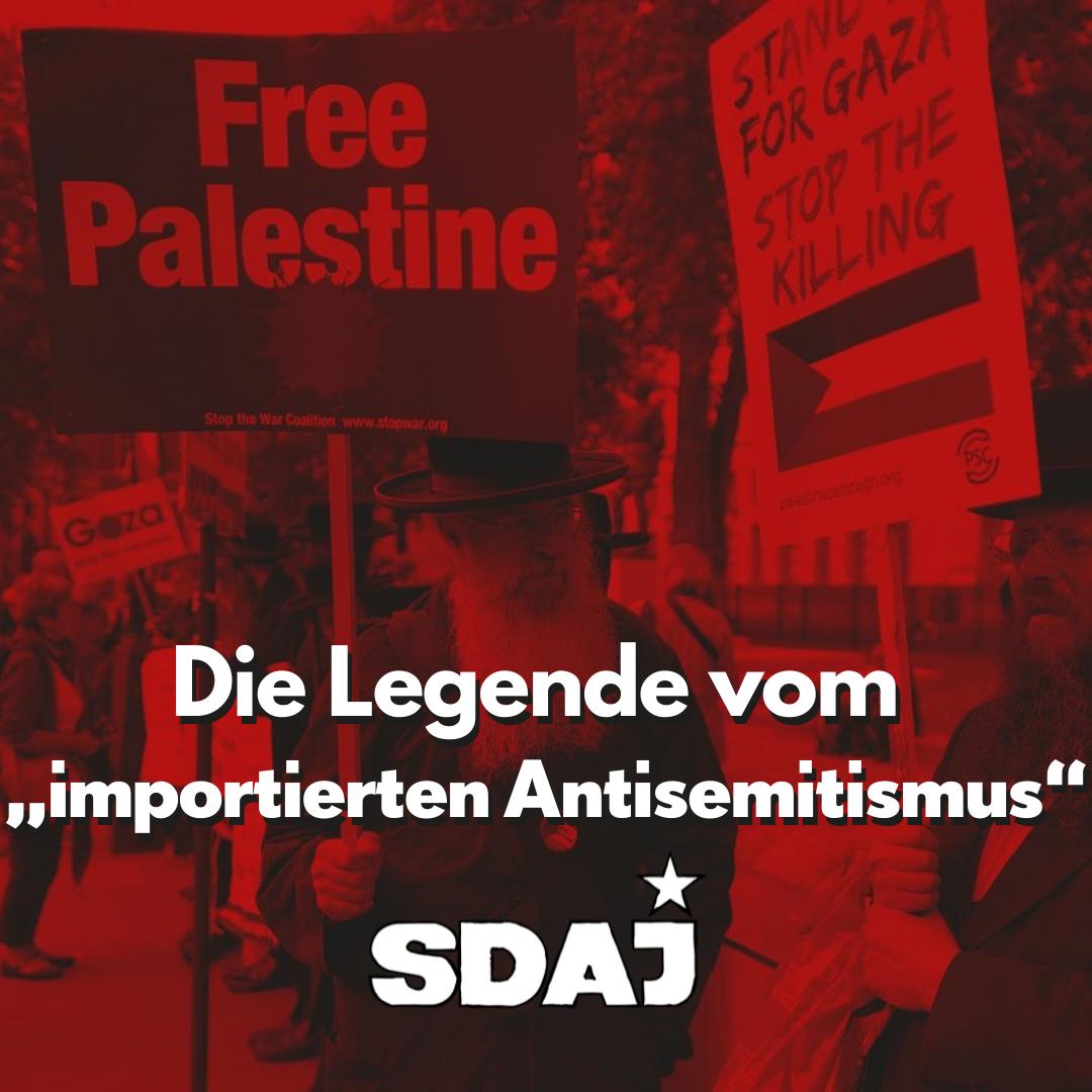 """Die Legende vom """"importierten Antisemitismus"""""""