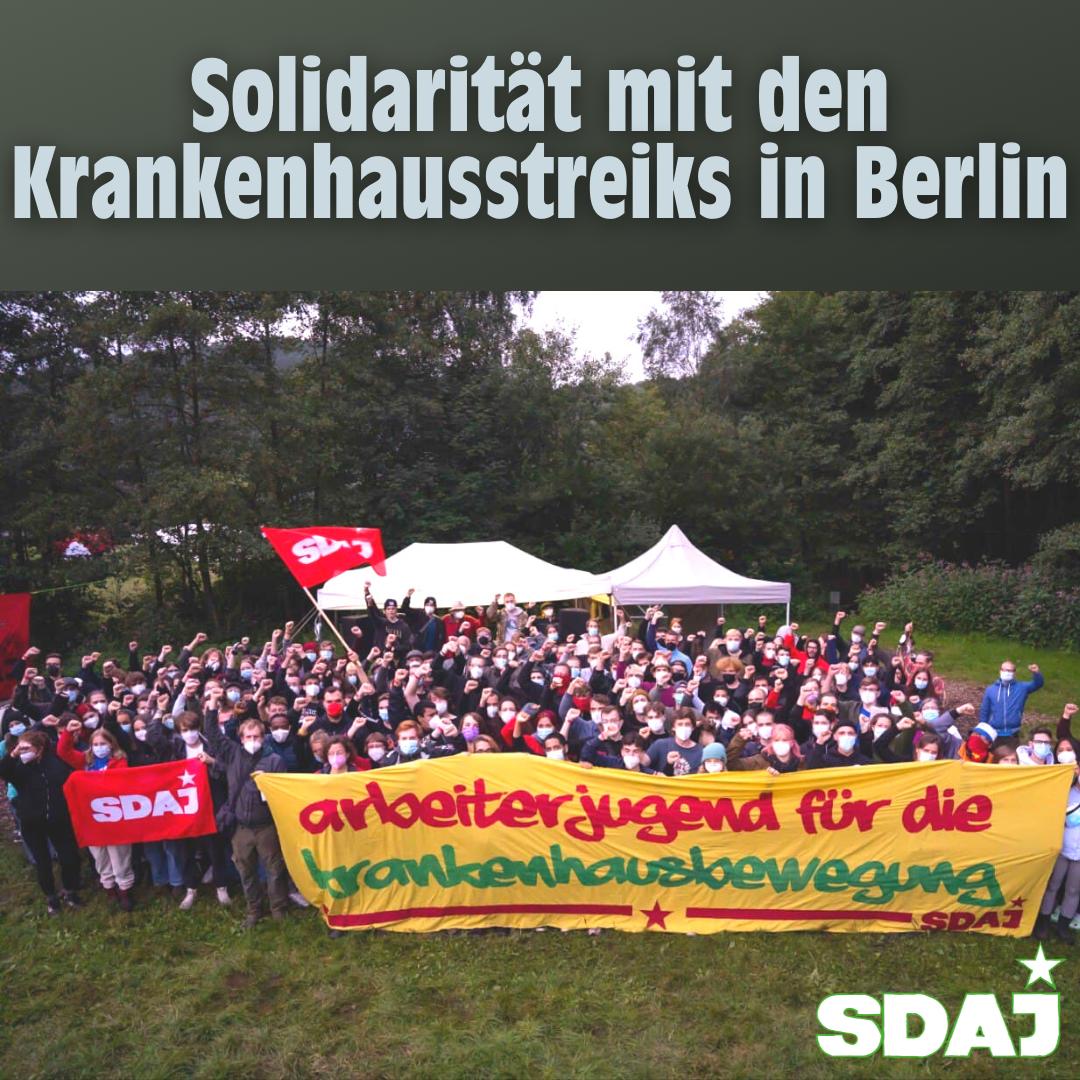 Solidarität mit den Berliner Krankenhausstreiks!