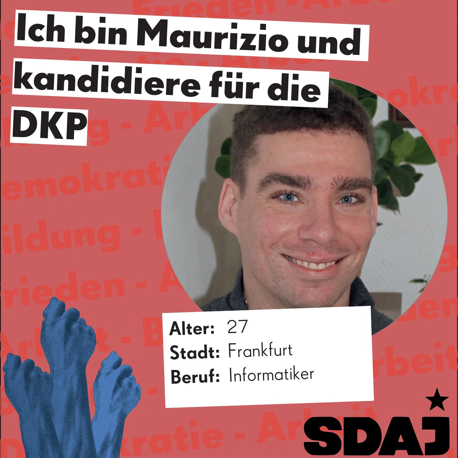 Jungkandidat*innenvorstellung zur Bundestagswahl: Maurizio